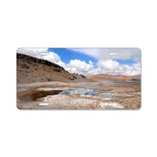 Hot water river Aluminum License Plate