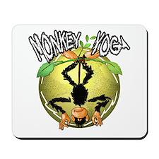 Monkey Yoga Mousepad