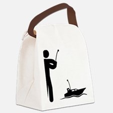 Remote-Control-Boat-AAA1 Canvas Lunch Bag