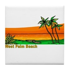 West Palm Beach, Florida Tile Coaster