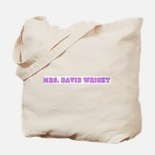 mrs. david wright  Tote Bag