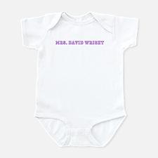 mrs. david wright  Infant Bodysuit