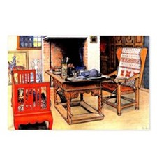 Carl Larsson - Peek-a-Boo Postcards (Package of 8)