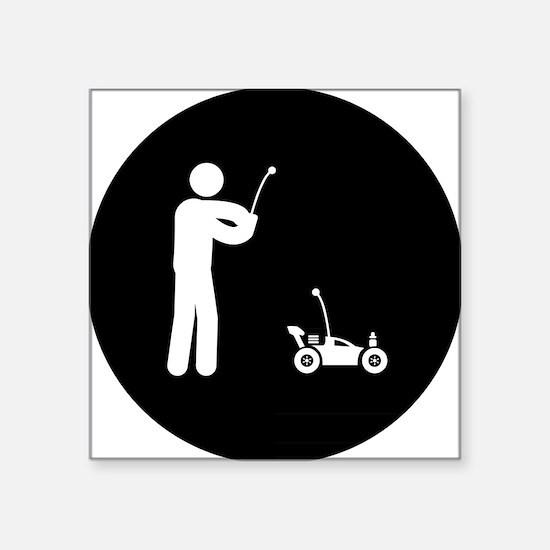 "Remote-Control-Car-AAB1 Square Sticker 3"" x 3"""