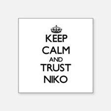 Keep Calm and TRUST Niko Sticker