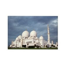 Grand Mosque Rectangle Magnet