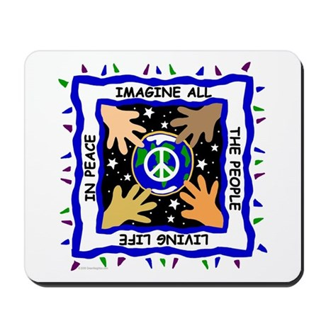 Hands of Peace Mousepad