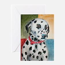 A Dalmatian Greeting Cards
