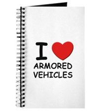 I love armored vehicles Journal