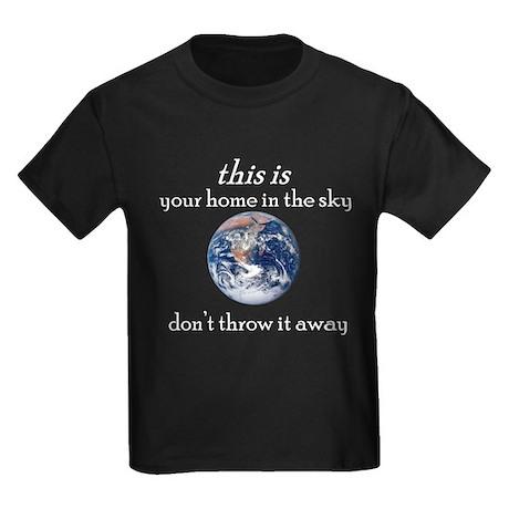 Atheist Activism Kids Dark T-Shirt