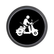 Scooter-AAB1 Wall Clock