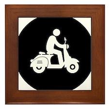 Scooter-AAB1 Framed Tile