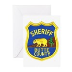 Butte County Sheriff Greeting Cards (Pk of 10)