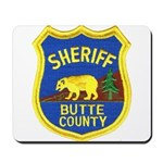 Butte County Sheriff Mousepad