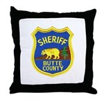 Butte County Sheriff Throw Pillow