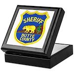 Butte County Sheriff Keepsake Box