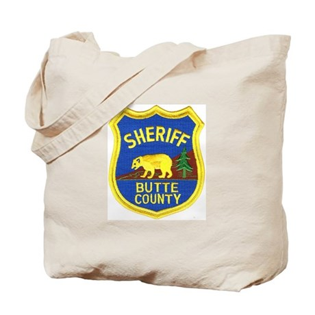 Butte County Sheriff Tote Bag
