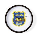 Butte County Sheriff Wall Clock