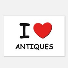 I love antiques  Postcards (Package of 8)