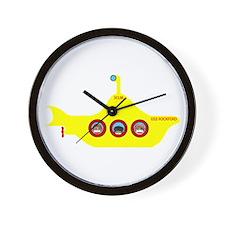3CLM Yellow Submarine Wall Clock