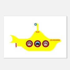 3CLM Yellow Submarine Postcards (Package of 8)