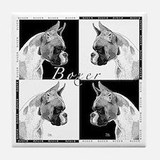 Boxer Art Tile Coaster-see .cafepress.com/dartdog