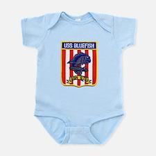 USS BLUEFISH Infant Bodysuit