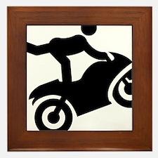 Stunt-Rider-AAA1 Framed Tile