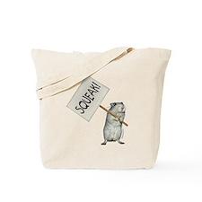 Protesting Gerbil Tote Bag