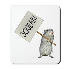 Protesting Gerbil Mousepad
