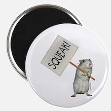 "Protesting Gerbil 2.25"" Magnet (10 pack)"