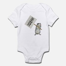 Protesting Gerbil Infant Bodysuit