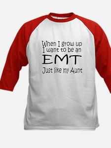 WIGU EMT Aunt Kids Baseball Jersey