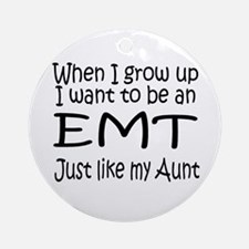 WIGU EMT Aunt Ornament (Round)