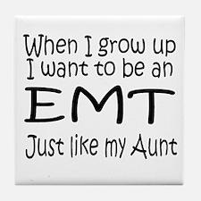 WIGU EMT Aunt Tile Coaster