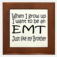WIGU EMT Brother Framed Tile