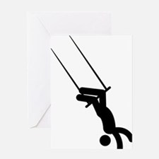 Trapeze-AAA1 Greeting Card