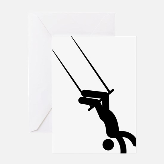 Trapeze-AAA1 Greeting Card