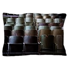 Abandoned red army theater Pillow Case