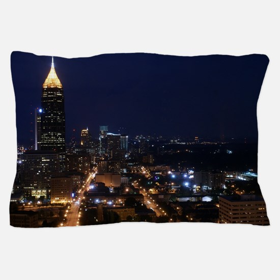 Atlanta Georgia Night Pillow Case