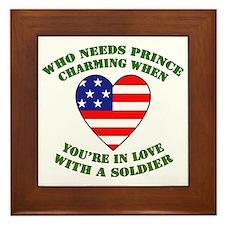 Soldier - Prince Charming Framed Tile