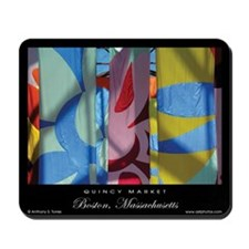 Quincy Market Banners - Mousepad