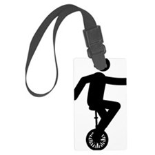 Unicycle-Rider-AAA1 Luggage Tag