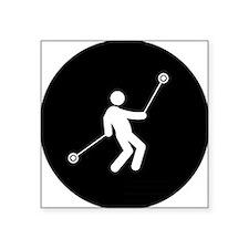 "Yoyo-Player-AAB1 Square Sticker 3"" x 3"""