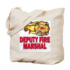 Deputy Fire Marshal Tote Bag