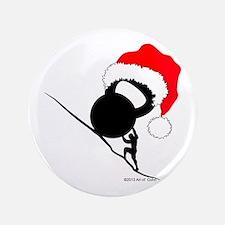 Sisyphus Kettlebell Christmas 3.5&Quot; Button