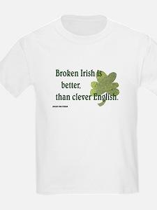 Paddy says Broken Irish T-Shirt
