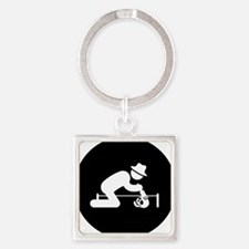 Archaeologist-AAB1 Square Keychain