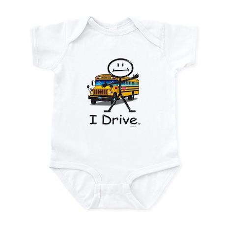 School Bus Driver Infant Bodysuit