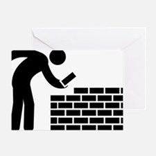 Bricklayer-AAA1 Greeting Card
